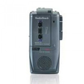 RadioShack Micro-44 Voice Activated Microcassette Recorder