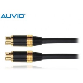 AUVIO 12 Ft S-Video Cable