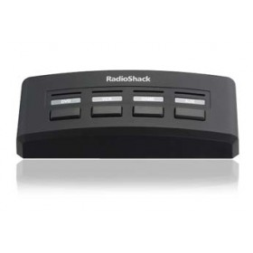 RadioShack® 4-In / 1-Out 4-Way Audio/Video Selector Switch