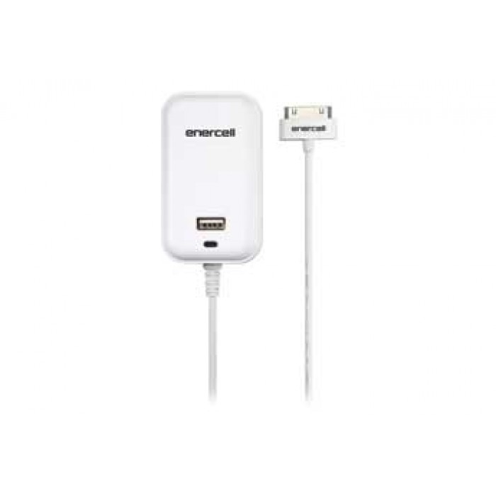 Enercell 174 5v 2a Ac With 30 Pin Amp Usb White Charger