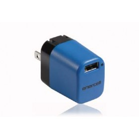 Enercell® 5V/3.6 Amp USB Blue AC Adapter