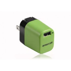 Enercell 5VDC/1A Green USB Charger