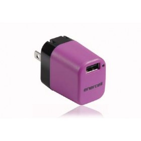 Enercell® 5V/1A AC USB Purple Charger