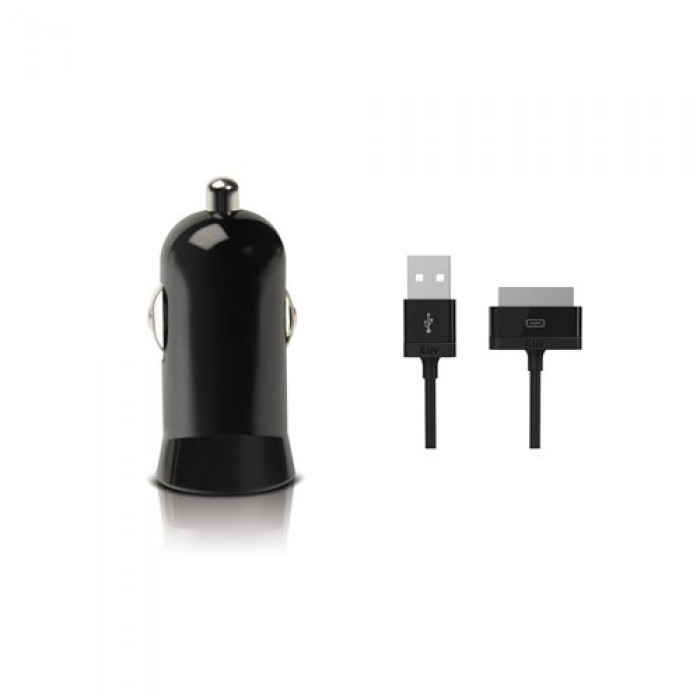 Iluv Icc262blk Micro Usb Sync Cable And Car Charger