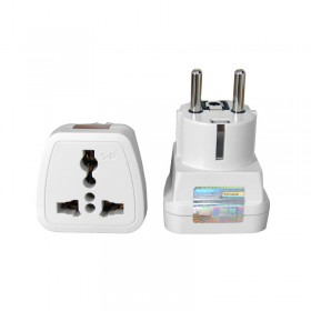 Radioshack TZ-Y/TZ-382 Travel Plug Universal outlet With indicator