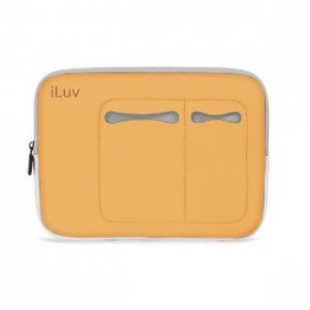 iLuv 13-Inch Mac Mini Laptop Orange Sleeve