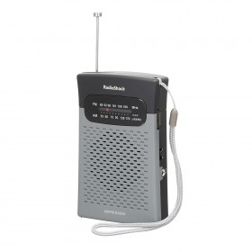 RADIOSHACK 1200586 AM/FM POCKET RADIO