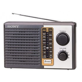 Sony 2 Band Transistor Radio