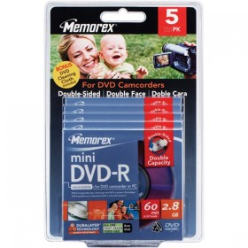 MEMOREX 2.8G 5 MINI DVD-R