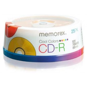 Memorex® Cool Colors CD-R