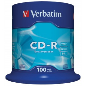 Verbatim EXTRA PROTECTION 100 CD-R