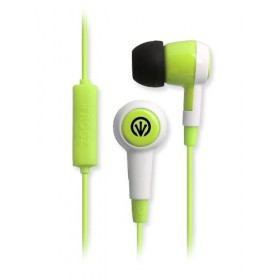 iFrogz AUDIO AURORA MIC - GREEN EARBUDS