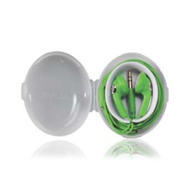 AUVIO® w/ Carrying Case Green Earbuds