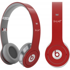 Beats Headphone Solo HD On-Ear Red