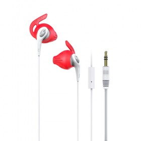 iLuv (FITACTRUNSWT) FitActive Run High Fidelity Stereo Sports Earphones-White