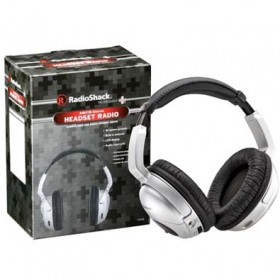 RADIOSHACK AM/FM STEREO HEADSET RADIO