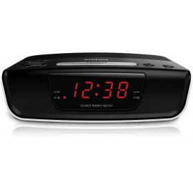 Philips Digital tuning clock radio AJ3123 FM, Digital tuning Dual alarm Time & alarm backup