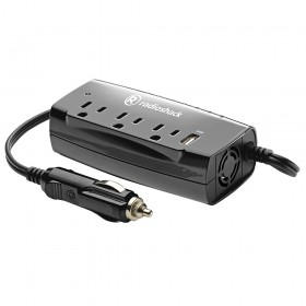 RadioShack 2200135 150W 3-Outlet Power Inverter with USB