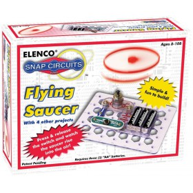 Elenco 28-012 Snap Circuits Flying Saucer