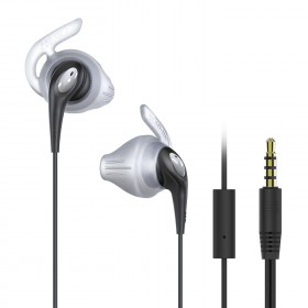 iLuv FitActive Run (FITACTRUNS) High Fidelity Stereo Sports Earphones with Mic and Remote