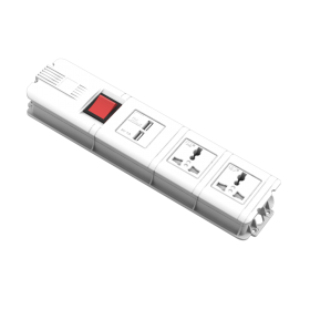 Radioshack TZ-11213  2 OUTLET POWER STRIP OVERLOAD PROTECTION WITH USB