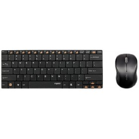 RAPOO 9020 ULTRA-THIN WIRELESS KEYBOARD&MOUSE GRY