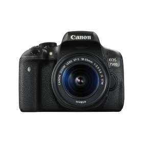 Canon EOS 750D 24.2MP,18-55mm IS STM+8GB+Bag,WiFI