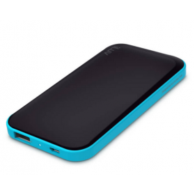 ILUV myPower50BK 5000 MAH.SLIM PORTABLE DUAL USB POWER BANK