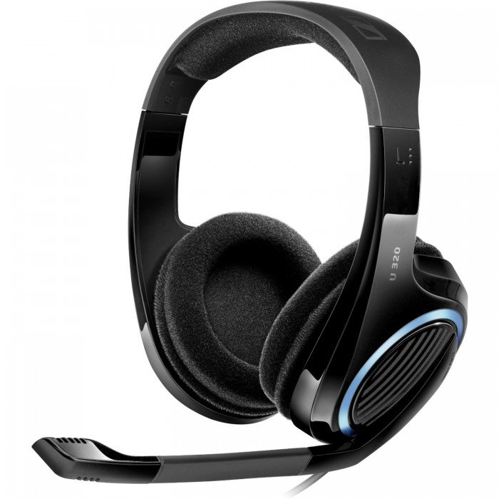 Buy From Radioshack online in Egypt Sennheiser 504568 U320 Multi-Platform Gaming Headset PC, Mac ...