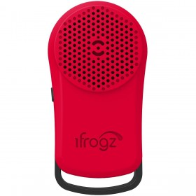 iFrogz IFTDPL-BR0 Tadpole wireless Bluetooth Speaker (Red)