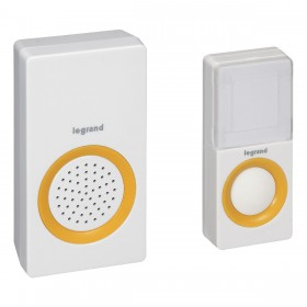 Legrand 94222 Wireless doorbell 15 melodies AC outlet power