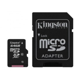 Kingston SDC10G2/64GB 64GB mircoSDXC Card Class 10 with SD adapter