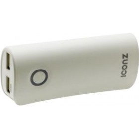 ICONZ IMN-PB602W Power Bank P602,6000 mAh,White