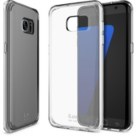 ILUV SS7VYNECL VYNEER - DUAL MATERIAL PROTECTION CASE for Galaxy S7