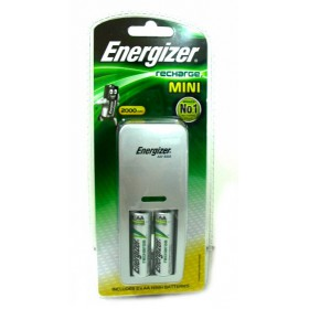 Energizer CH2PC3 MINI CHARGER + 2 AA 2000 MAH