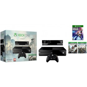 Microsoft Xbox One 6RZ-00113 500GB Kinect + Assassin's Creed: Unity + Assassin's Creed IV: Black Flag + Dance Central Spotlight