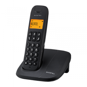 ALCATEL DELTA-180 CORDLESS PHONE - Black
