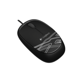 Logitech M-U0004 USB Wired mouse M105 , Black