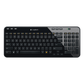 Logitech Y-R0017 Wireless keyboard K360 Arabic - Black