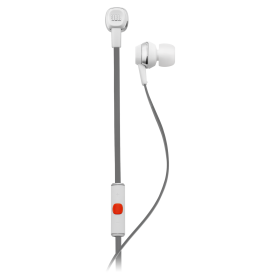 JBL J22I WHT  In-Ear Headphones with Inline Microphone , White