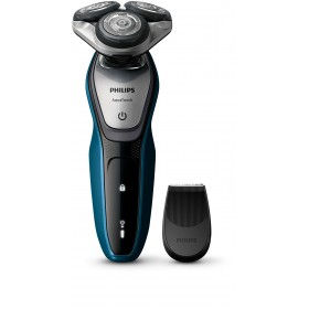 Philips S5420/06 AquaTouch wet and dry electric shaver MultiPrecision Blade System, 45 min cordless use/1h charge, SmartClick precision trimmer