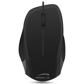 Speedlink SL-610000-BKBK LEDGY Mouse - wired, 1.3 meter, black-black