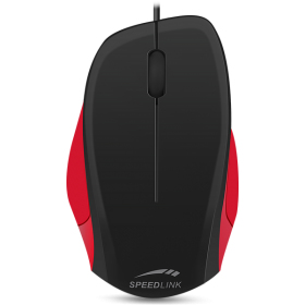 Sreedlink SL-610000-BKRD LEDGY Mouse - wired, 1.3 meter, black-red