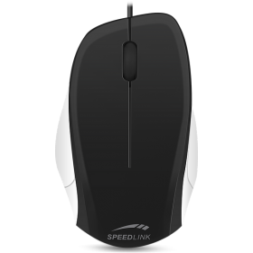 Sreedlink SL-610000-BKWE  LEDGY Mouse - wired, 1.3 meter, black-white