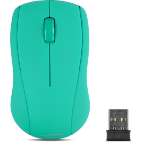 Speedlink SL-630003-TE SNAPPY Mouse - 2.4GHz, Wireless USB, turquoise