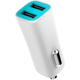 ILUV MOBISEAL2WH CAR CHARGER MOBISEAL 2 DUAL-PORT USB 3.4 A