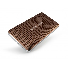 Harman Kardon HKESQUIREMINIBRNAM PORTABLE Bluetooth Speaker, ESQUREMI, Brown