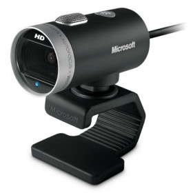 Microsoft H5D-00015 LifeCam Cinema Webcam With Aluminum Body and Flexible Stand