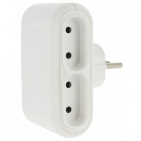 Legrand 50650 OUTLET Adapter  4 x 2P 6A side