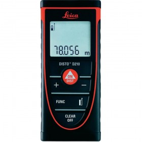 LEICA 792290 DISTO D210 LASER DISTANCE METER UP TO 80M